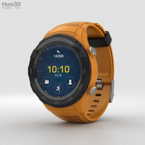 Huawei Watch 2 Dynamic Orange - 3DOcean Item for Sale