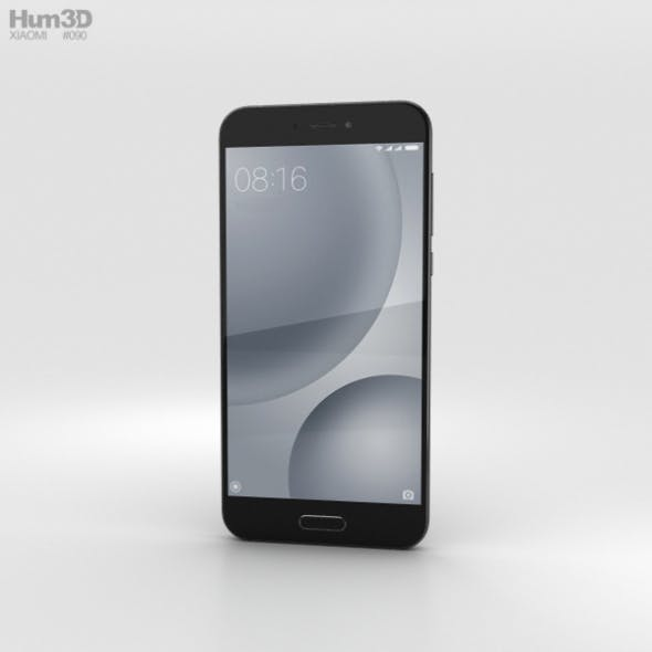 Xiaomi Mi 5c Black - 3DOcean Item for Sale