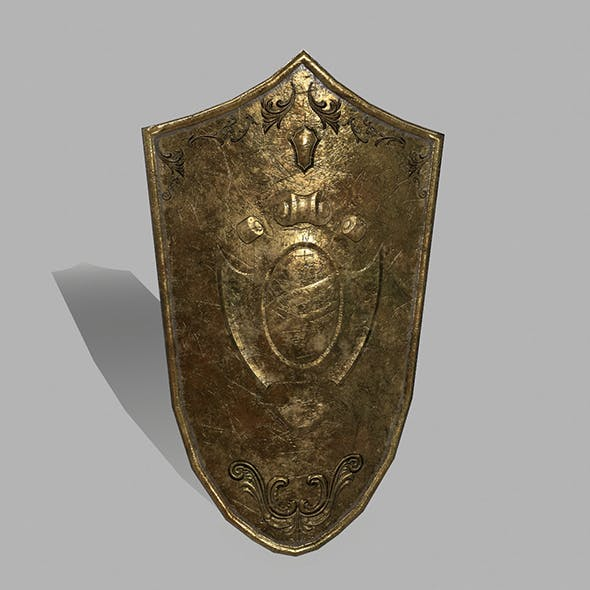 Shield_1 - 3DOcean Item for Sale