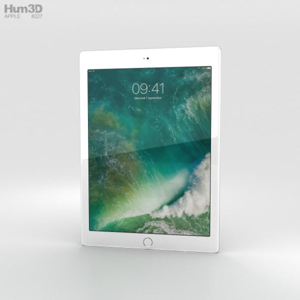 Apple iPad 9.7-inch Silver - 3DOcean Item for Sale