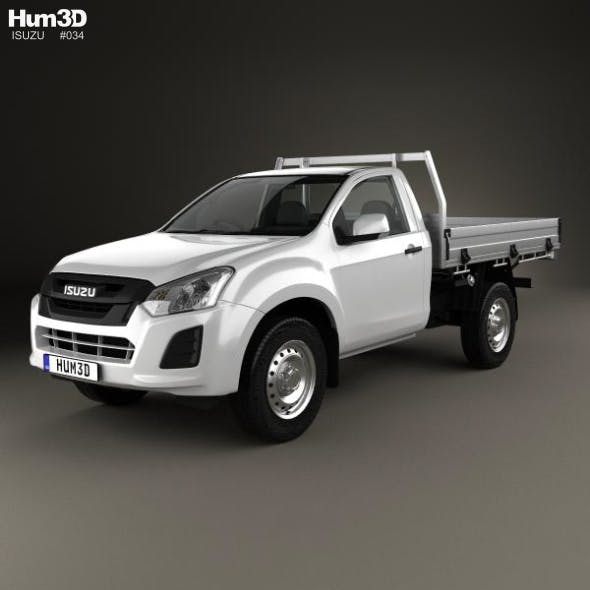 Isuzu D-Max Single Cab Alloy Tray SX 2017 - 3DOcean Item for Sale