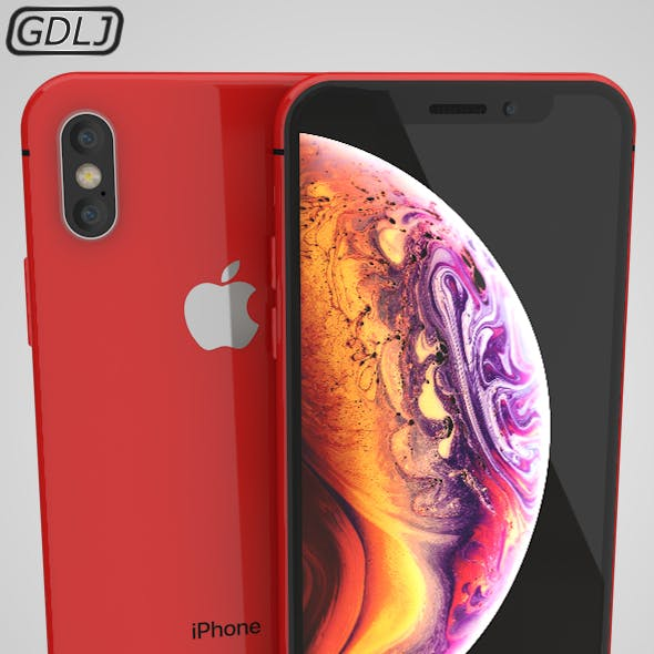 Iphone XS Red