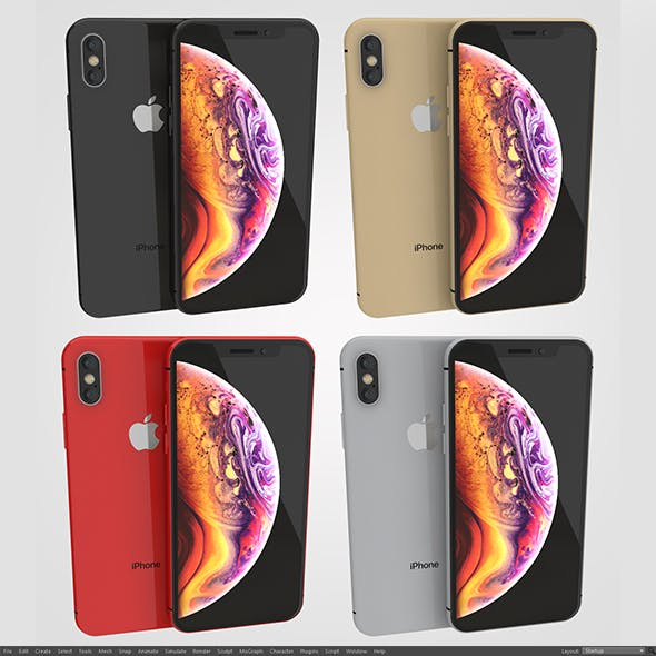Iphone XS 4 Colors
