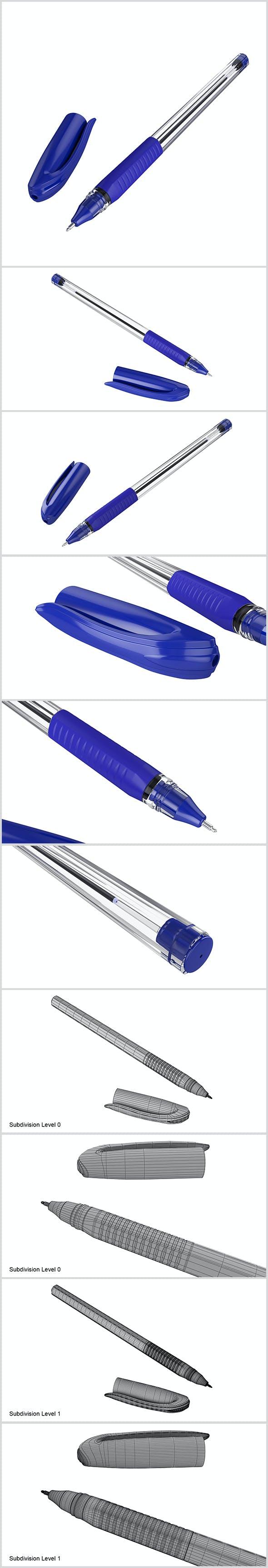 Ballpoint Pen - 3DOcean Item for Sale
