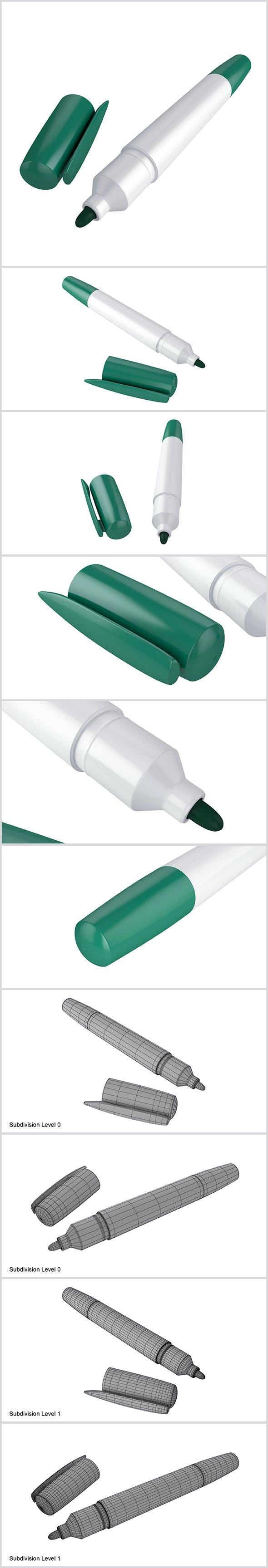 Marker - 3DOcean Item for Sale