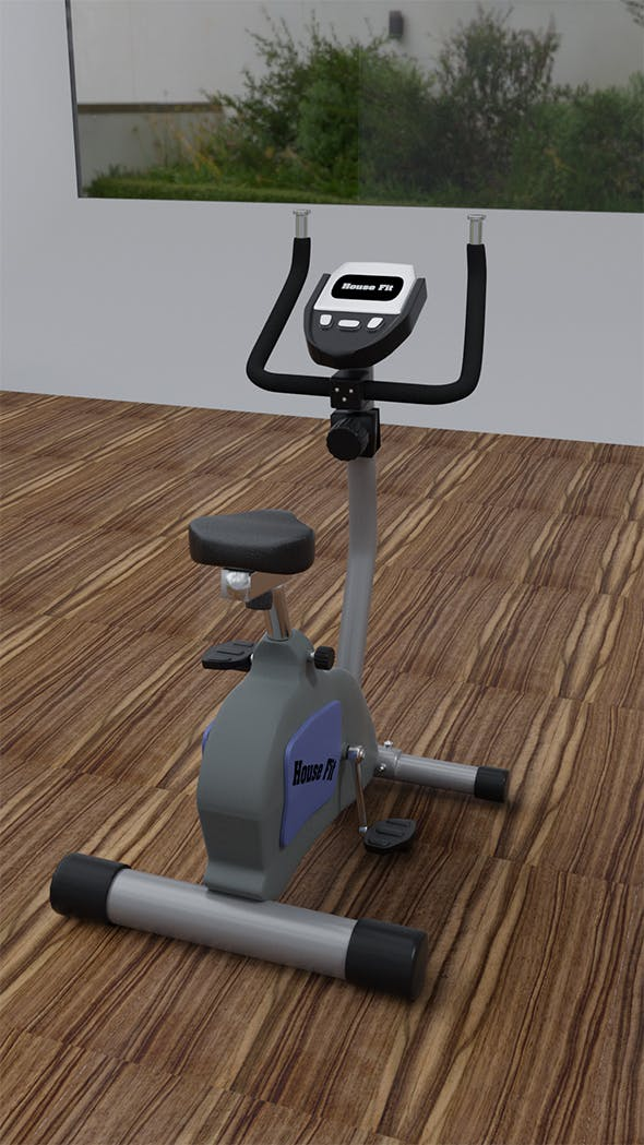 Exercise Bike 3 D - 3DOcean Item for Sale