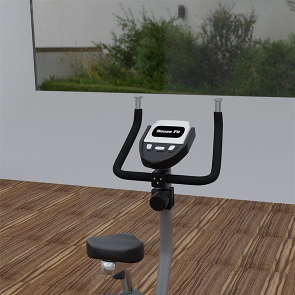 Exercise Bike 3 D