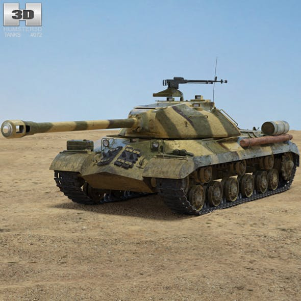 IS-3 - 3DOcean Item for Sale