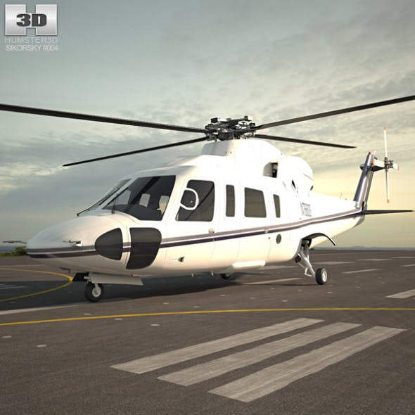Sikorsky S-76 - 3DOcean Item for Sale