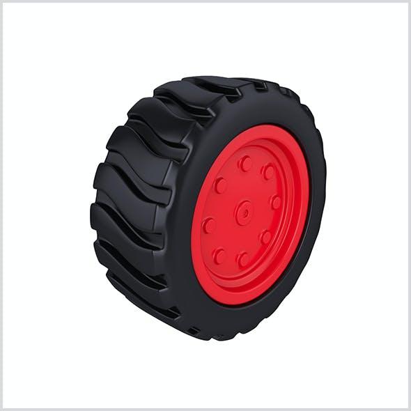 Cartoon wheel for toys