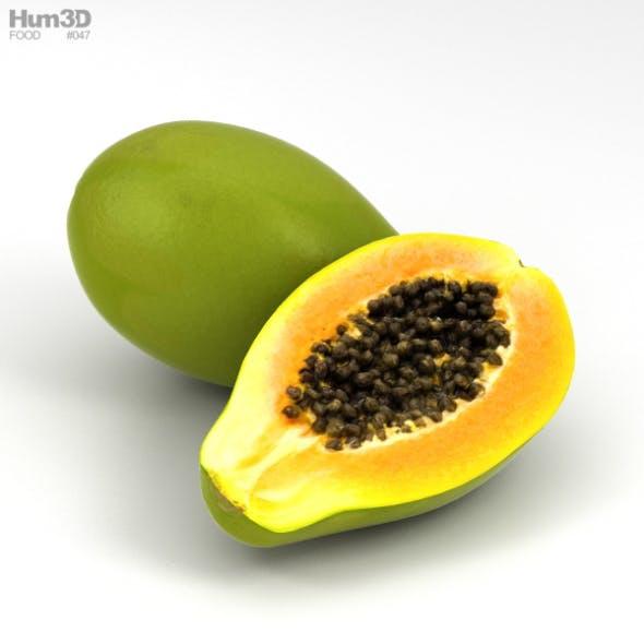 Papaya - 3DOcean Item for Sale
