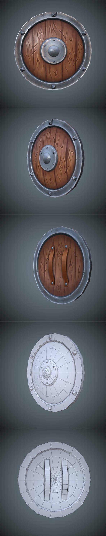 Shield - 3DOcean Item for Sale