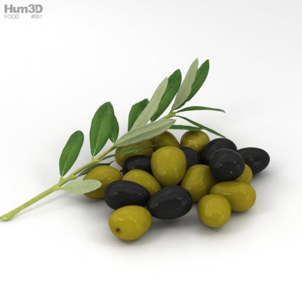 Olive - 3DOcean Item for Sale
