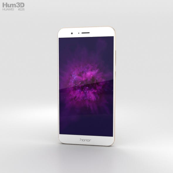 Huawei Honor 8 Pro Gold - 3DOcean Item for Sale