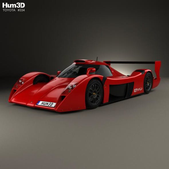Toyota GT-One Road Car 1999 - 3DOcean Item for Sale