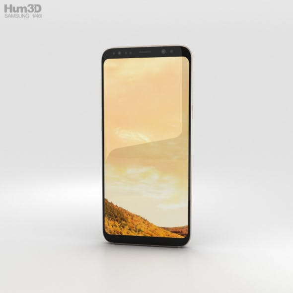 Samsung Galaxy S8 Maple Gold - 3DOcean Item for Sale
