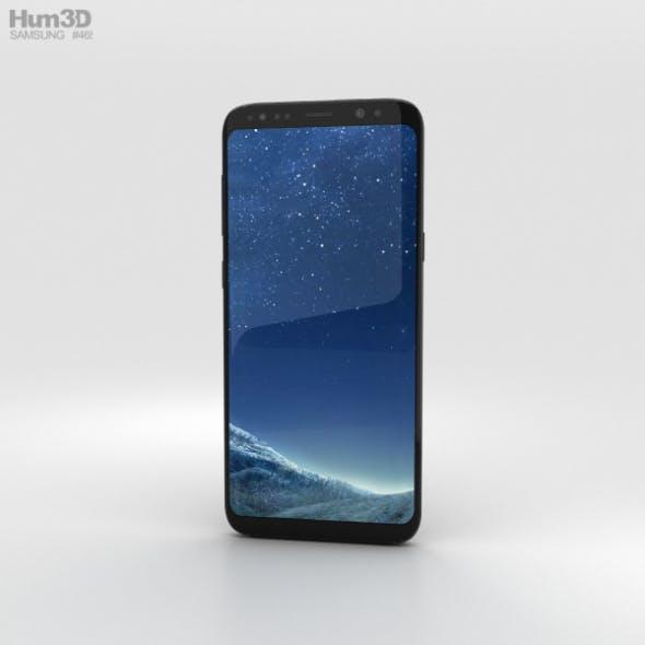 Samsung Galaxy S8 Plus Midnight Black - 3DOcean Item for Sale