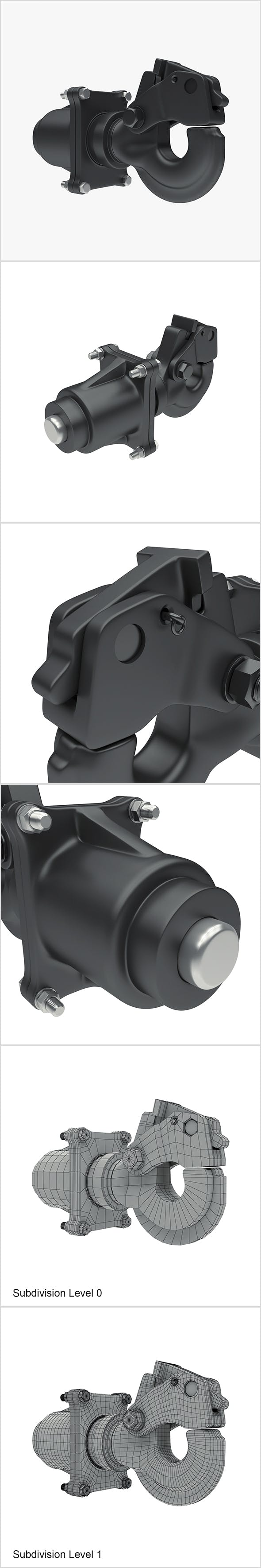 Towing hook - 3DOcean Item for Sale