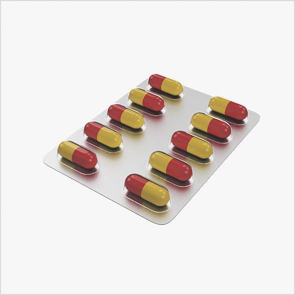 Pills in blister pack