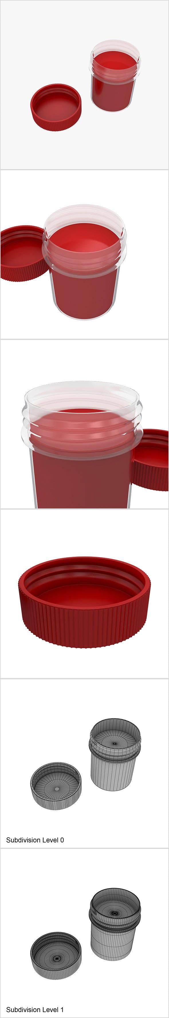 Gouache paint - 3DOcean Item for Sale