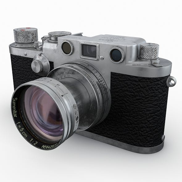 Leica III - 3DOcean Item for Sale