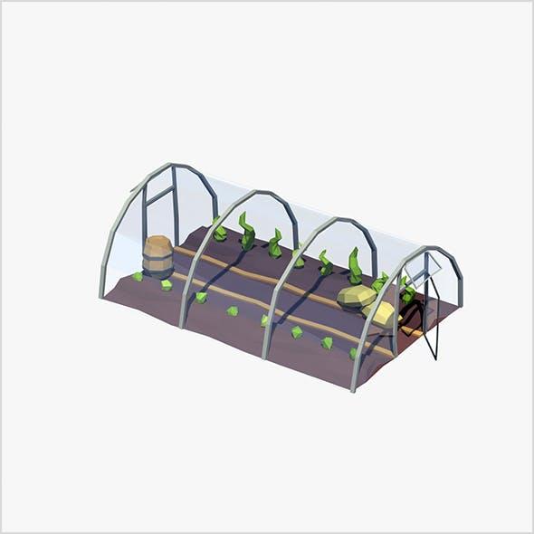 Cartoon greenhouse