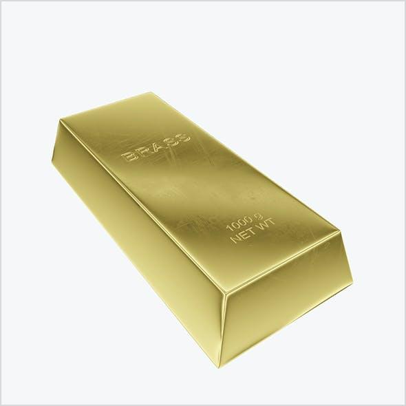 Ingot brass