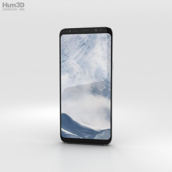 Samsung Galaxy S8 Plus Arctic Silver - 3DOcean Item for Sale