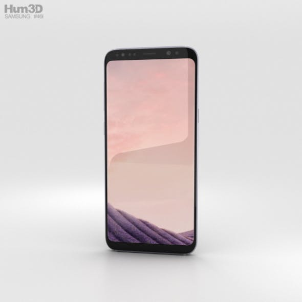 Samsung Galaxy S8 Plus Orchid Gray - 3DOcean Item for Sale