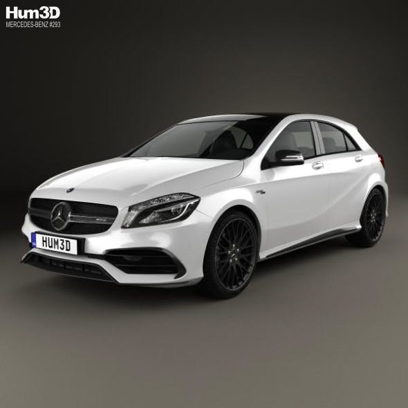 Mercedes-Benz A-Class (W176) AMG 2015 - 3DOcean Item for Sale