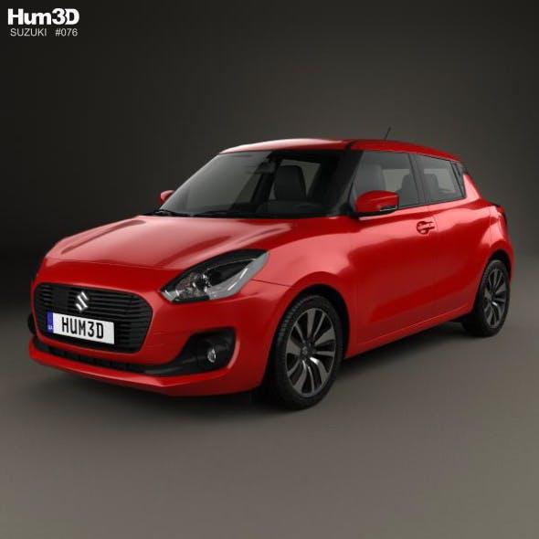 Suzuki Swift 2017 - 3DOcean Item for Sale
