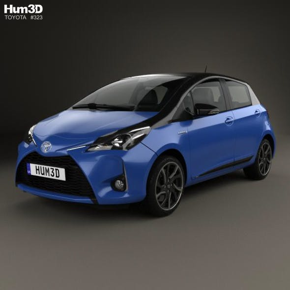 Toyota Yaris Hybrid Bi-Tone 2017