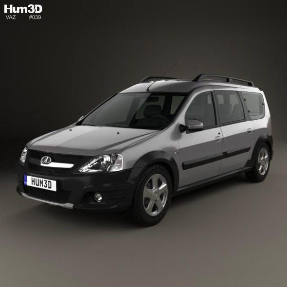 Lada Largus 2014 - 3DOcean Item for Sale