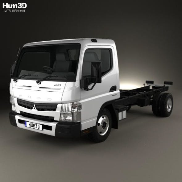 Mitsubishi Fuso Canter 515 Wide Single Cab Chassis Truck 2016
