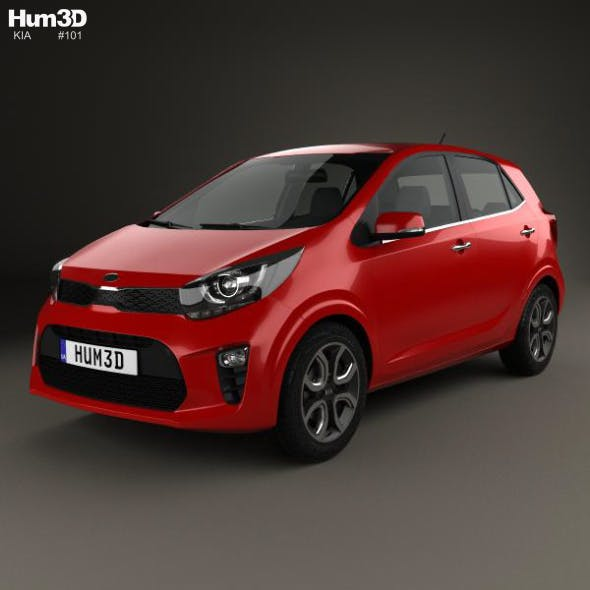 Kia Picanto (Morning) 2017 - 3DOcean Item for Sale