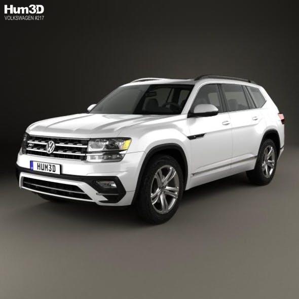 Volkswagen Atlas R-Line 2017 - 3DOcean Item for Sale