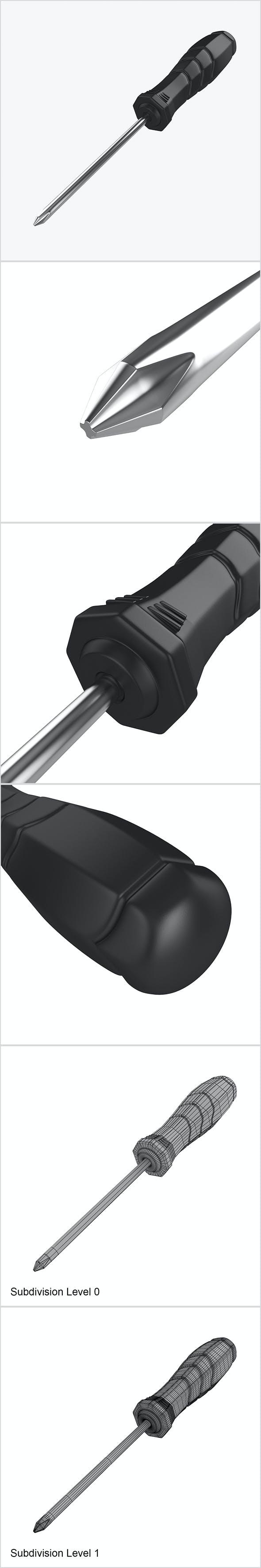 Screwdriver - 3DOcean Item for Sale
