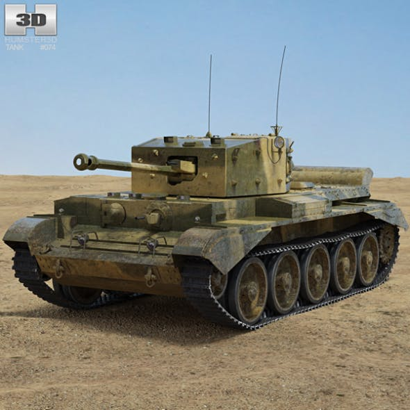 Cromwell tank - 3DOcean Item for Sale