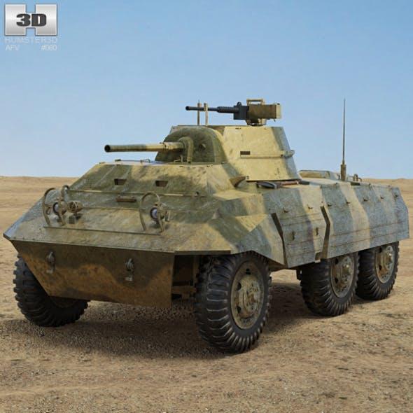 M8 Greyhound - 3DOcean Item for Sale