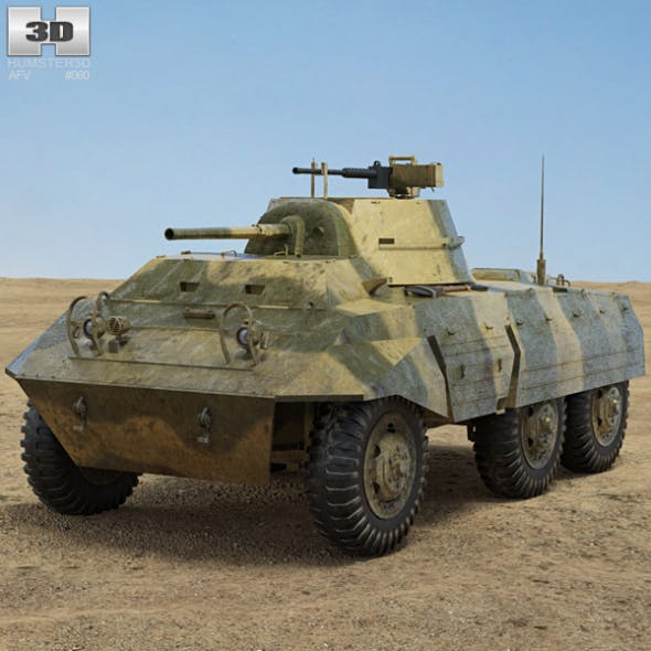 M8 Greyhound by humster3d | 3DOcean
