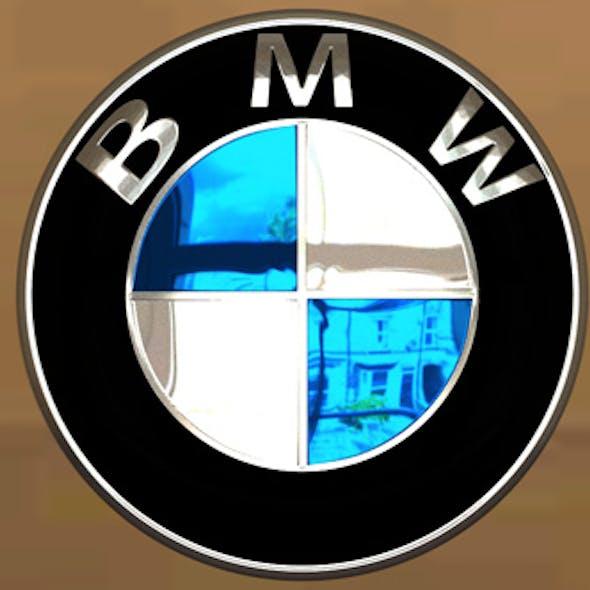 BMW Logo Photoreal