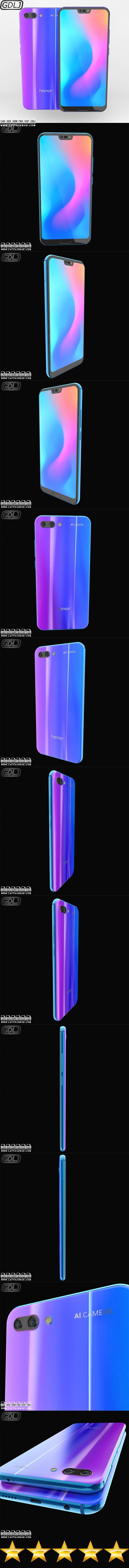 Huawei Honor 10 - 3DOcean Item for Sale