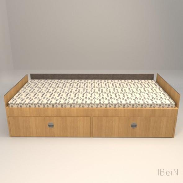 Bed v1.3 - 3DOcean Item for Sale