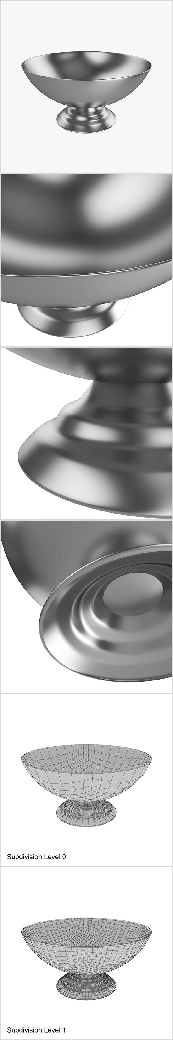 Metal bowl - 3DOcean Item for Sale