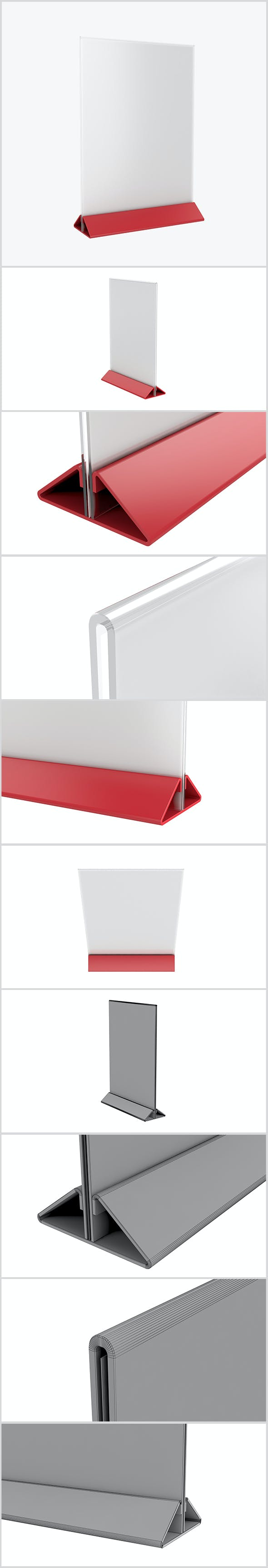 Plastic Holder - 3DOcean Item for Sale