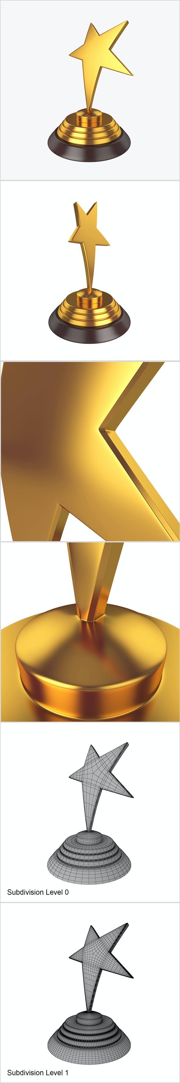 Star award - 3DOcean Item for Sale