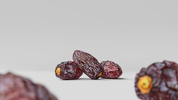 Dried Date 001 - 3DOcean Item for Sale