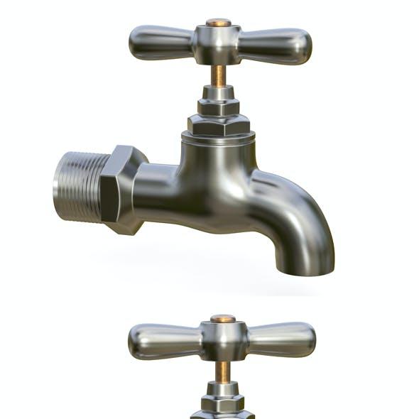 Water tap metal