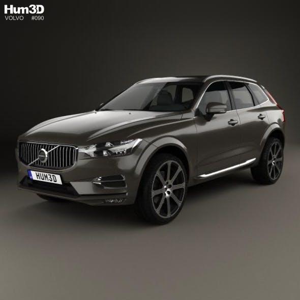 Volvo XC60 Inscription 2017 - 3DOcean Item for Sale
