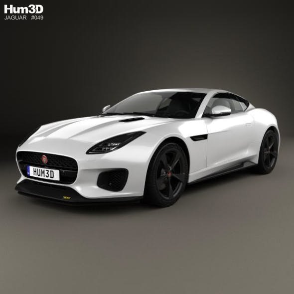 Jaguar F-Type 400 Sport Coupe 2017 By Humster3d
